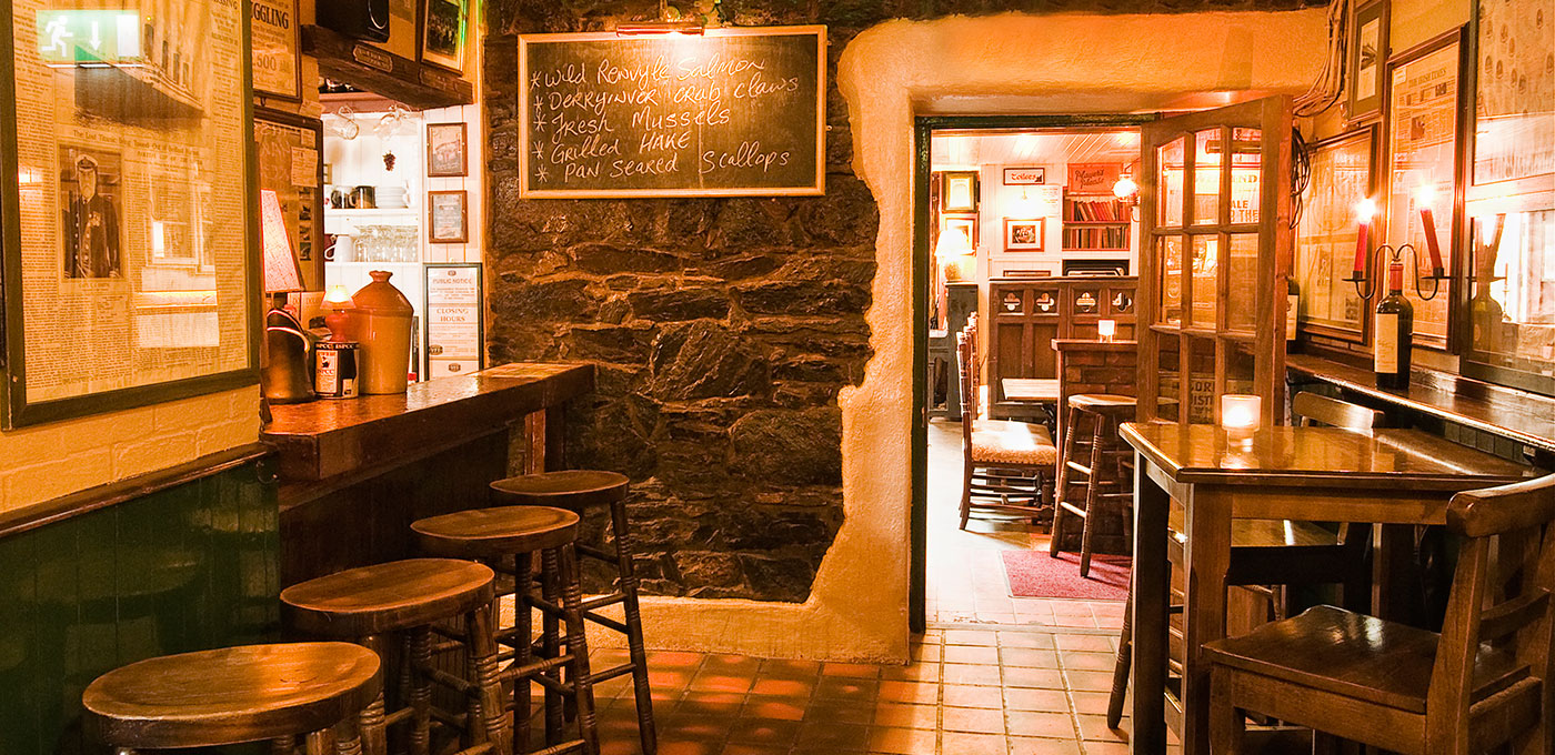 Traditional Irish Pub, Connemara, Ireland